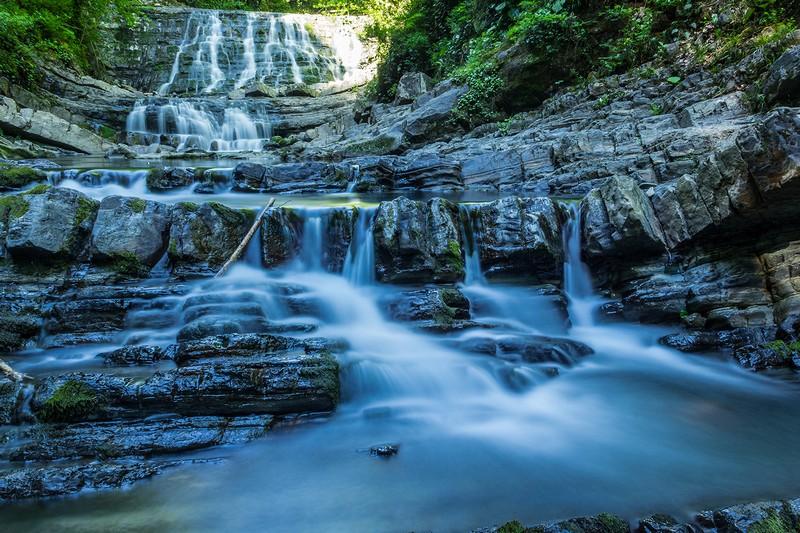 Змеековские водопады в Адлере
