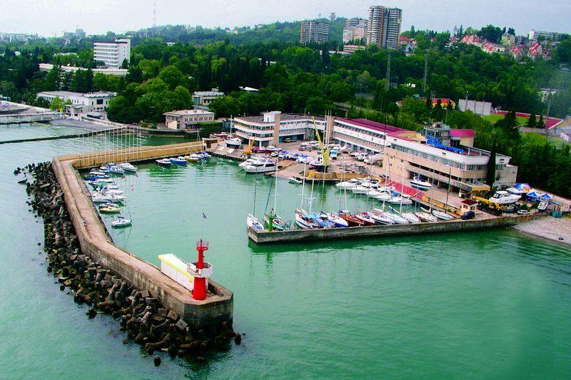 Яхт-клуб в Адлере