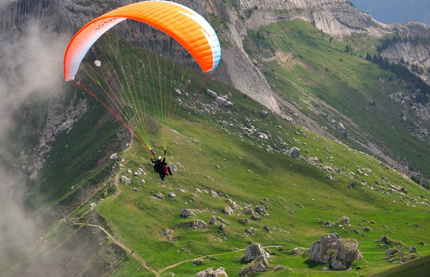 Paragliders stickers